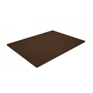 Plexi plateau BROWN SMOKE - 400x300x5mm