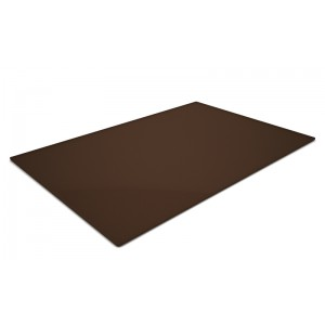 Plexi plateau BROWN SMOKE - 600x400x5mm