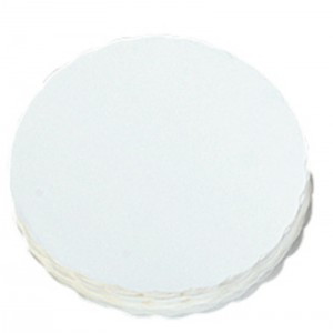Steakpapier rond WIT Ø120mm