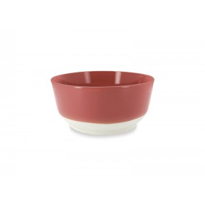 Saladekom rond ROOD - Ø250xH115mm - 3,5l - Color Lab