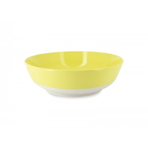 Saladekom rond GEEL - Ø340xH100mm - 4,5l - Color Lab
