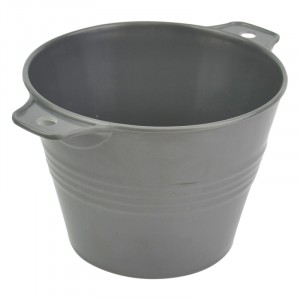 Ranch pot GRIJS melamine 200X153X110mm - 1,2l
