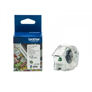 CZ1002 Color Paper tape 12mm tbv. VC-500W labelprinter