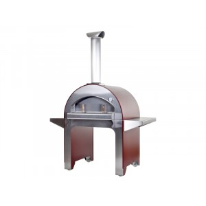 Pizza oven Alfa 4 Pizze - ROOD - 1550x875x2020mm