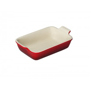 Gratineerschotel 310x260mm (4/6pers.) - KERSENROOD