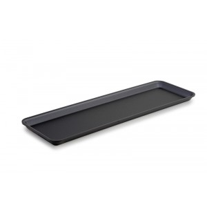 Plexi plateau GN 2/4 17 DARK SMOKE - 530x162x17mm