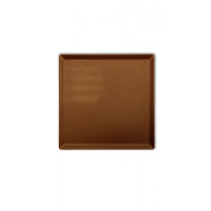 Plexi plateau BROWN SMOKE - 200x200x5mm