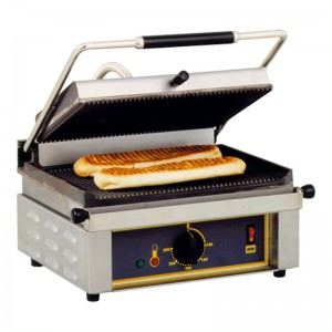 Grill panini ROLLER GRILL - 3000W - 430x390x220(h)mm