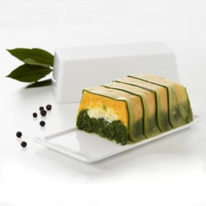 Terrine + deksel - 197x100x66mm - 0,6l