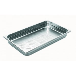 1/1 65 geperforeerd inox - 530x325x65mm