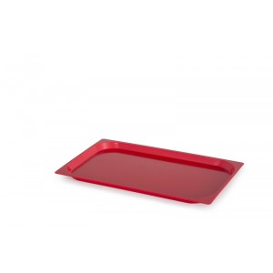 Plaat GN1/1 ABS ROOD - 530x325mm