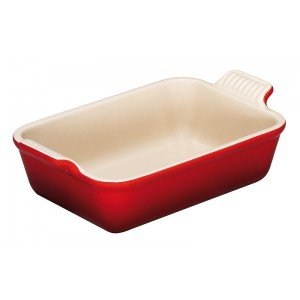 Gratineerschotel 240x190mm (1/2pers.)- KERSENROOD