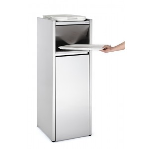 "Inox afvalcontainer ""Snack""  - 110l"