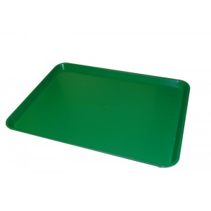 Plaat ABS GROEN ronde hoek - 580x410mm