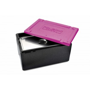 Polibox Crystal GN1/1 h240mm FUCHSIA
