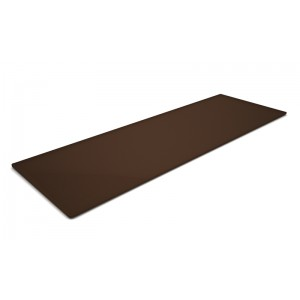 Plexi plateau BROWN SMOKE - 600x200x5mm