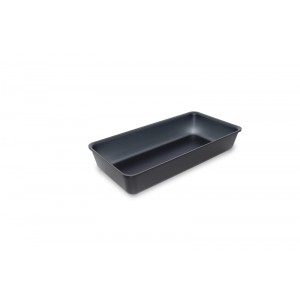 Plexi bac DARK SMOKE - 280x140x50mm