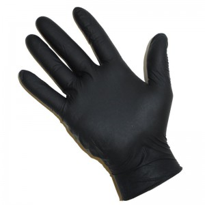 Gants Latex POWDER FREE NOIR - Large - 100 pcs