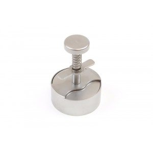 App. hamburger rond INOX - Ø70mm