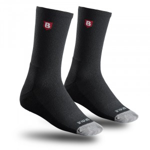 Brynje chausettes All Year ZWART 44-47 - 3-pack