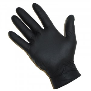 Gants Latex POWDER FREE NOIR - X-Large - 100 pcs
