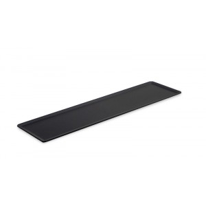 Plexi plateau DARK SMOKE - 400x100mm