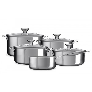 Set casseroles 5pcs - RVS