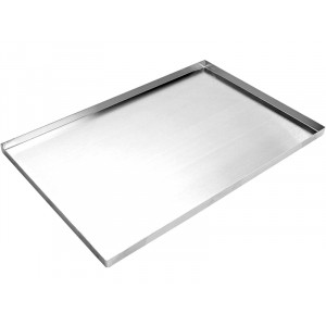 Plaque de four inox - 600x400x20mm
