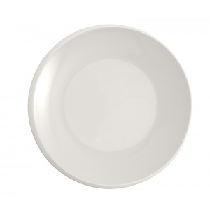 Asiette plat BLANC Ø270mm - New Moon