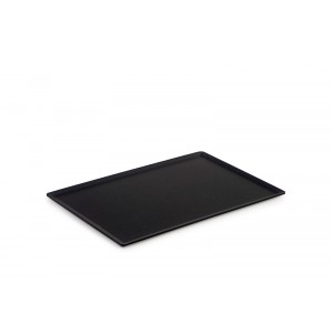 Plexi plateau DARK SMOKE - 300x200mm