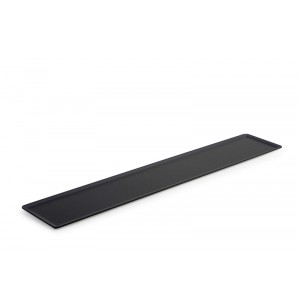 Plexi plateau DARK SMOKE - 600x105mm