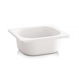 Bac Gastronorme BLANC - GN 1/6 100mm - 1l