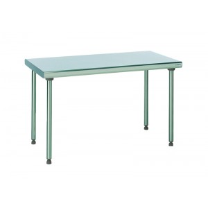 Table inox centrale - 700x1200mm
