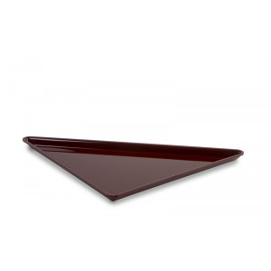 Plexi triangle grand BORDEAUX - 400x400x565mm