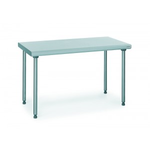 Table inox centrale - 600x1800mm