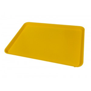 Plateau ABS JAUNE - 580x410mm